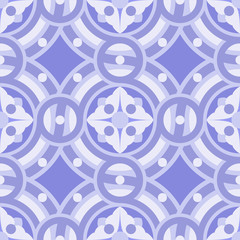Seamless vintage background pattern in lilac