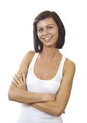 Young smiling women