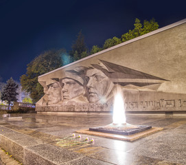 Eternal glory monument in Stavropol