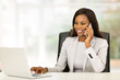 african american businesswoman using mobile phone - 80812841