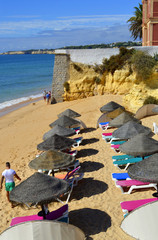 Armacao De Pera Beach on the Algarve