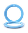 Blue plastic pocket mirror - 80813486