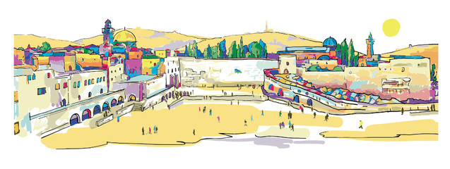 Jerusalem.Western Wall.