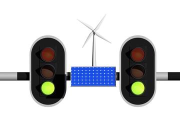 Licht op groen voor groene energie
