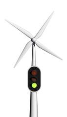 licht op groen voor windenergie