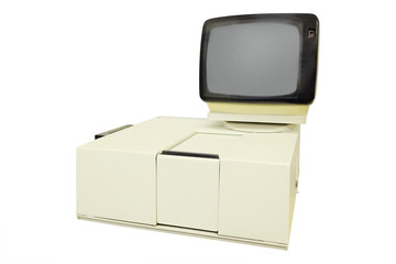 Spectrophotometer for research papers.