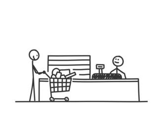 sm supermarktkasse II