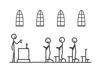 sm in der kirche I