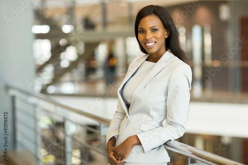 business woman in modern office - 80816672