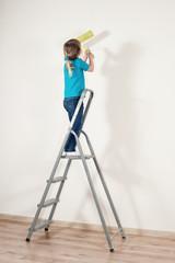 Little house-painter