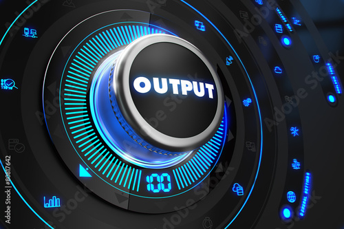 Output Controller on Black Control Console.