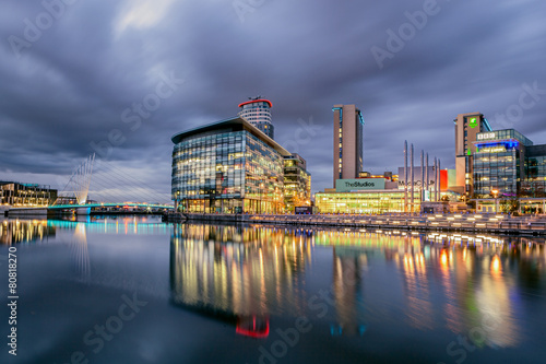 Media City Manchester Poster