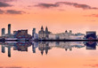 Panoramic skyline liverpool UK - 80819047