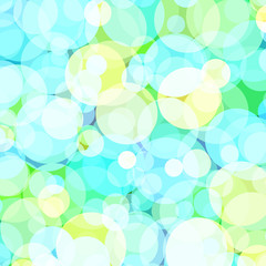 Background with colored circles. Vector. 7