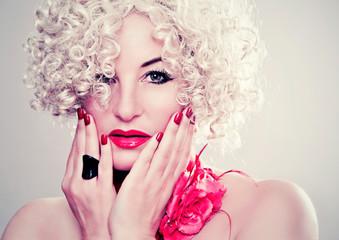 glamour make up - fashion shots 30