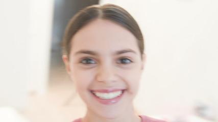 Very beautiful teenager girl