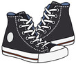 Black sneakers - 80822272