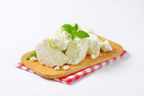 Crumbly white cheese