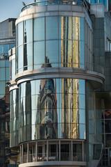 Haas-Haus mit Spiegelung des Stephansdomes | Wien