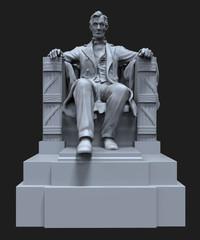 Abraham Lincoln Statue.