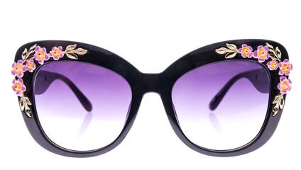 Decorated with rhinestones sunglasses
