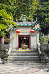 a-ma chinese temple in macau china
