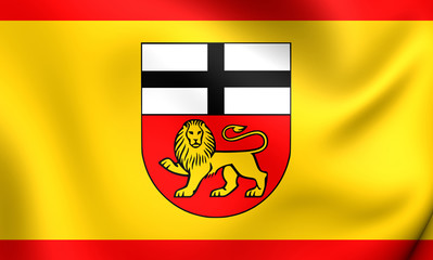 Flag of Bonn, Germany.