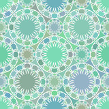 Abstract mosaic spirograph pattern