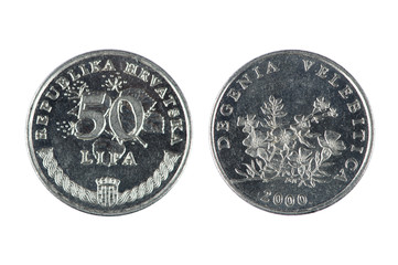 Lira Croatia coin