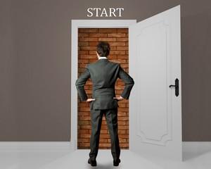 Opportunity hampered businessman