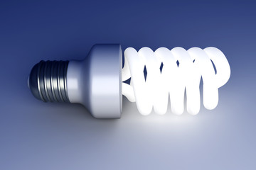 Energy Saver Light Bulb.