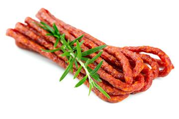 kabanos - polish thin dry sausages