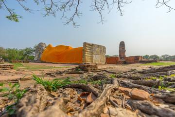 Buddha statue at Wat Lokayasuta
