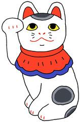 伏見人形 招き猫