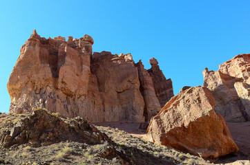 Charyn natural national Park in Kazakhstan.