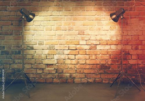 photo studio in old room - 80838408