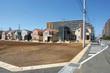 Leinwandbild Motiv 宅地造成と戸建て住宅分譲地 イメージ