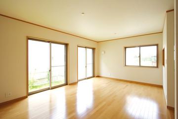 リビング イメージ シンプル家具なし 施工例