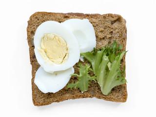 boiled egg toast