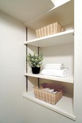 浴室 脱衣所のリネン庫