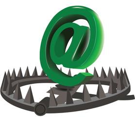 trappola su internet