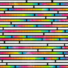 rainbow color stripes seamless pattern