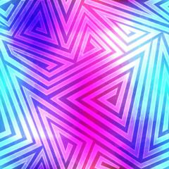 spectrum labyrinth seamless pattern