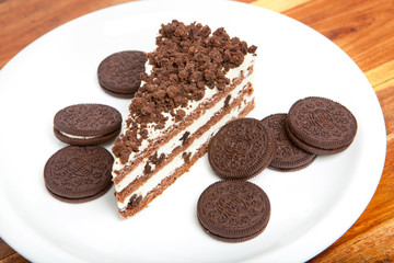 Cookie cake desert