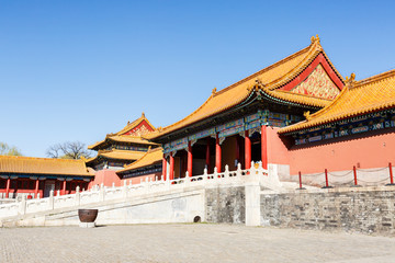 Beijing Forbidden City traditional Chinese architecture