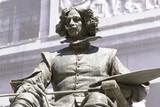 Statue of Velazquez in Prado museum, Madrid (Spain)