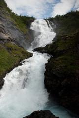 Waterfall Kjosfossen Norway