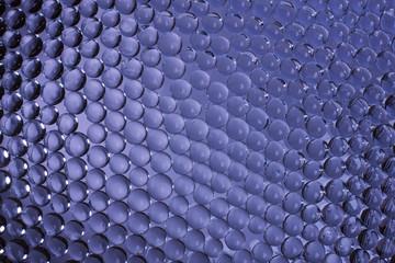 Background blue bubbles - Stock image