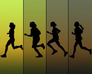 Womens running design