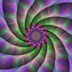 Spiral fractal tentacles
